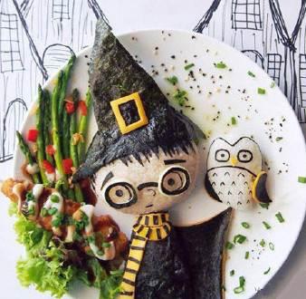 【E然自乐】妙趣横生的餐盘