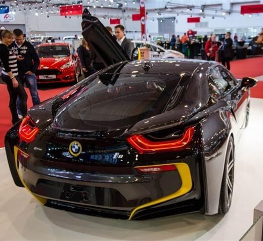 Essen2014年车展 Manhart推出改装宝马i8