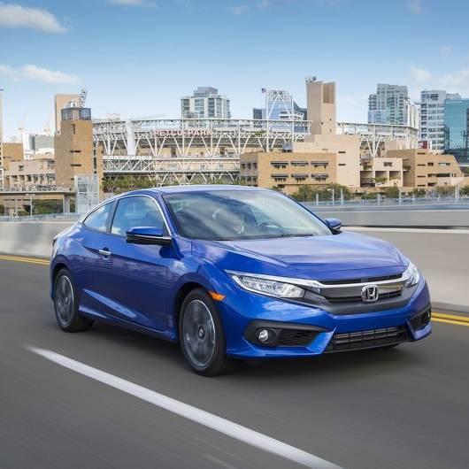 本田2016款Civic Coupe起售价$19,050