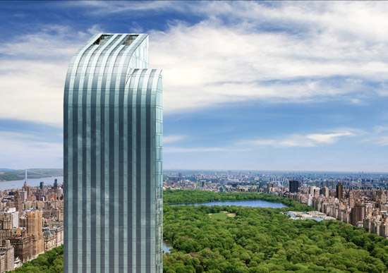 """搬进纽约新摩天大楼One57 与全球富豪""""同居"""""""